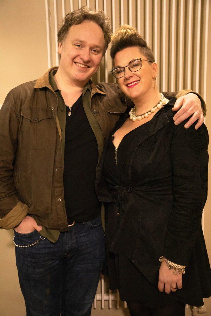 Eimear Crehan and Mundy